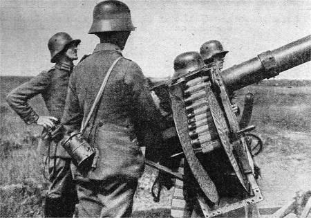 Deutsche Flak im 1. Weltkrieg