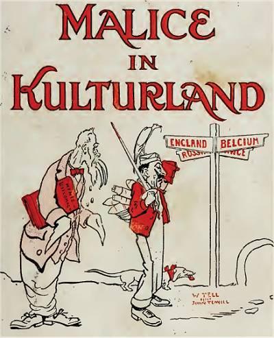 Englische Propaganda 1914