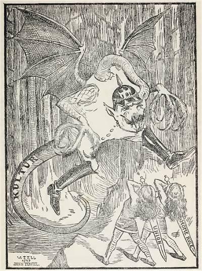 Englische Kriegspropaganda 1914