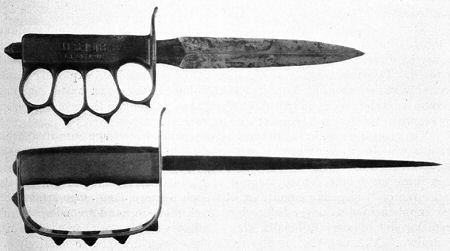 Amerikanische Grabendolche aus dem 1. Weltkrieg