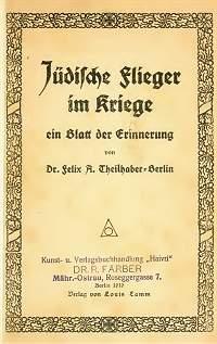 Jüdische Flieger im 1. Weltkrieg
