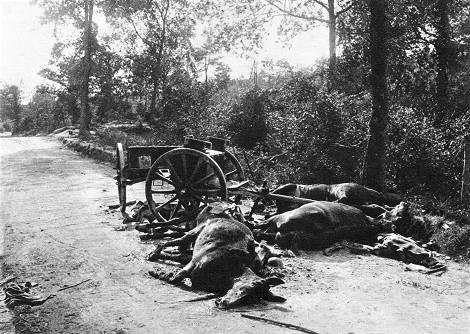 Bei Reims 1918