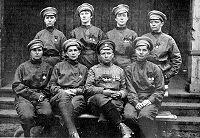 Russische Soldatinnen im 1. Weltkrieg