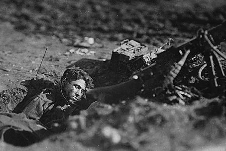 Gefallener deutscher Soldat