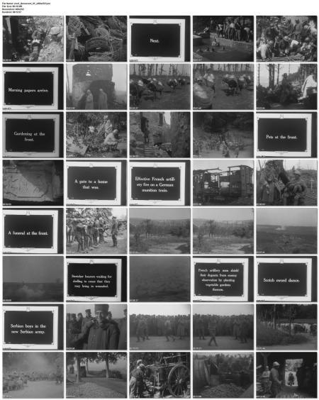 Filmaufnahmen 1. Weltkrieg (Wochenschau)